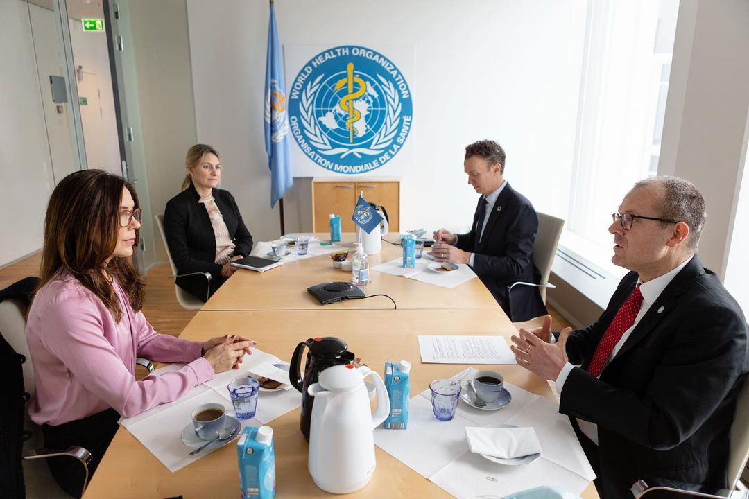 Crown Princess of Denmark attended WHO Meeting