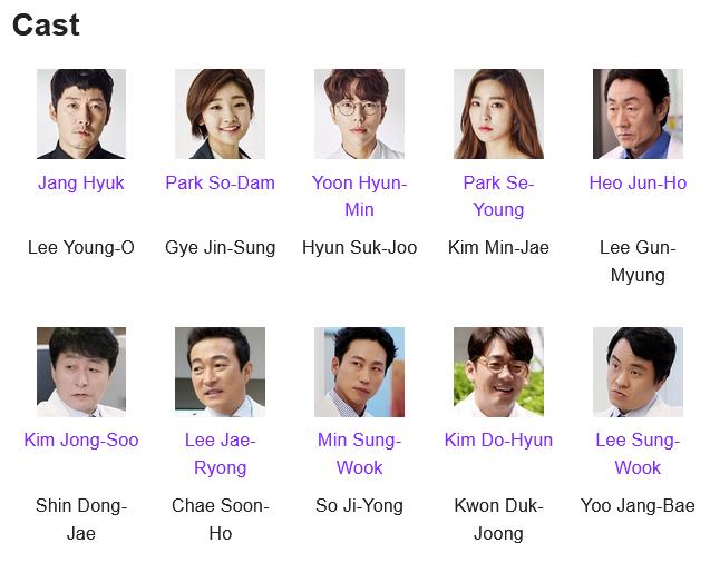 Beautiful Mind K-Drama Cast