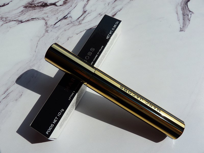 At Lash'd Mascara, Marc Jacobs Beauty Golden Collection