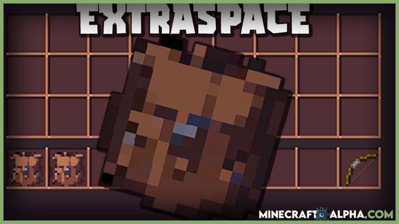 Minecraft ExtraSpace Mod For 1.16.5 (Backpack And Inventory)