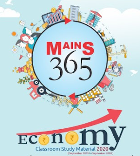 Vision IAS Mains 365 Economy 2020 PDF. The notes are very useful for various UPSC and other competitive exams