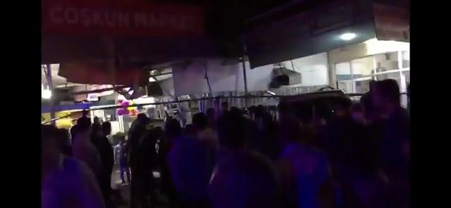 Şanlıurfa'da otomobil markete daldı: 7 yaralı