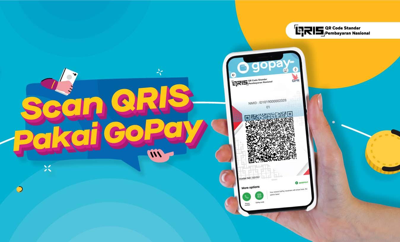 Cara Melihat Barcode GoPay Kita dan QR Code GoBiz dengan Mudah