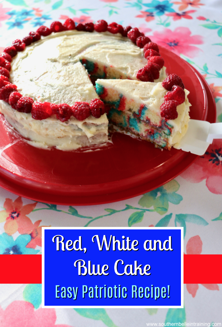 4th of July Cake Tutorial