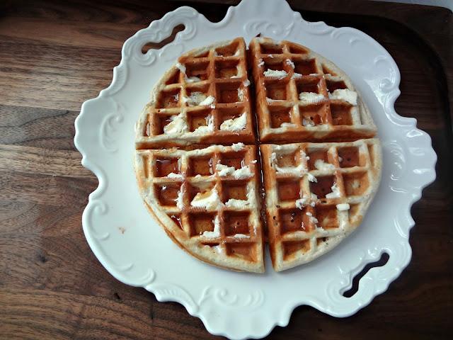 Heart Healthy Waffles