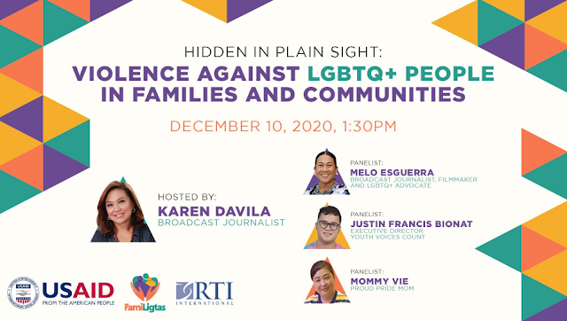 FamiLigtas calls for increased visibility on GBV against LGBTQ+