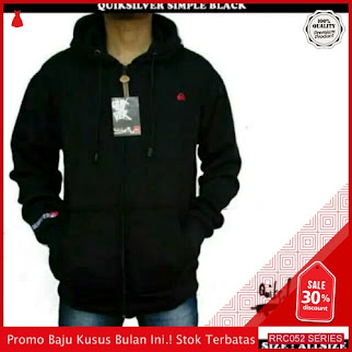 RRC052J22 Jacket Pria Cowo Kuicksilver Simple Black Pria BMGShop