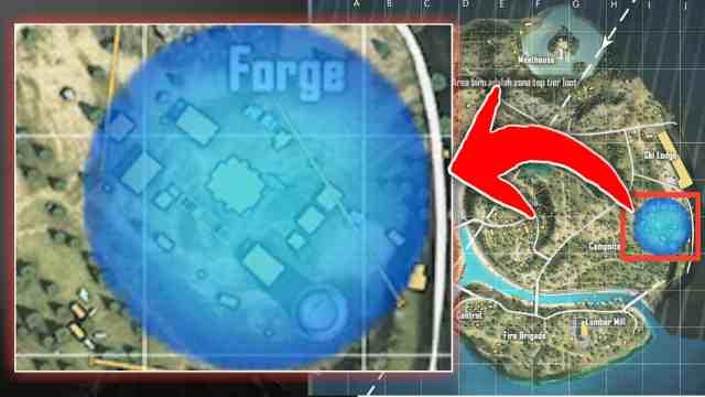 Forge, Tempat Looting Terbaik di Purgatory Free Fire