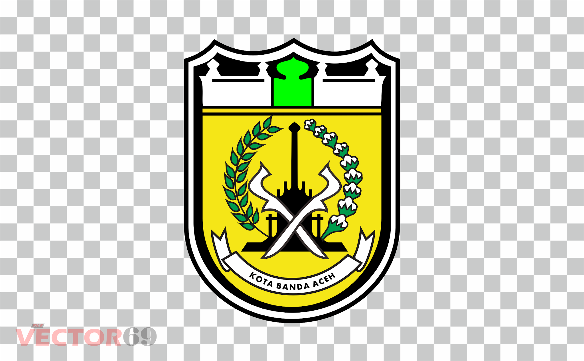 Kota Banda Aceh Logo - Download Vector File PNG (Portable Network Graphics)