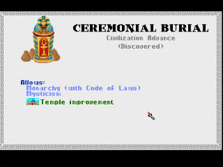 Ceremonial Burial