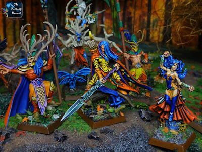 Wood Elves Wandereres Waystrider Highborn