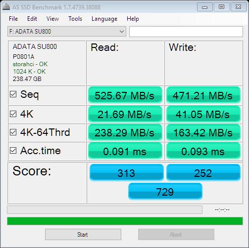 ADATA Ultimate SU800 256GB SSD Review 14