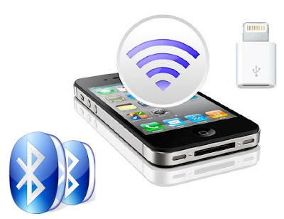 Bluetooth impulsar datos GPS