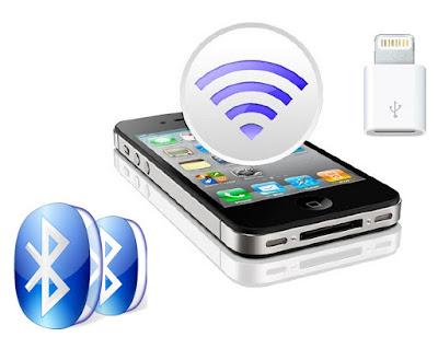 Bluetooth impulsar datos GPS