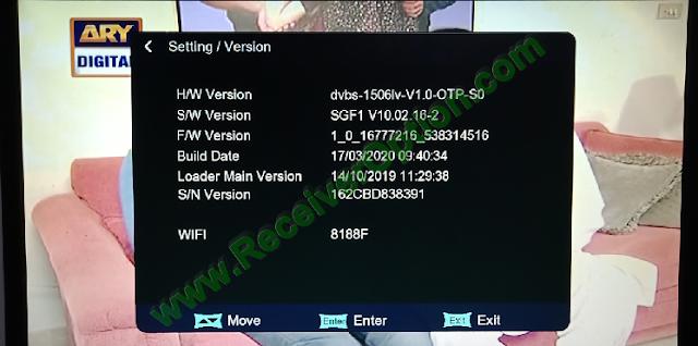 STARTRECK SUPER 9990 SR 1G 8M 1506LV NEW SOFTWARE WITH DOLBY SOUND OK