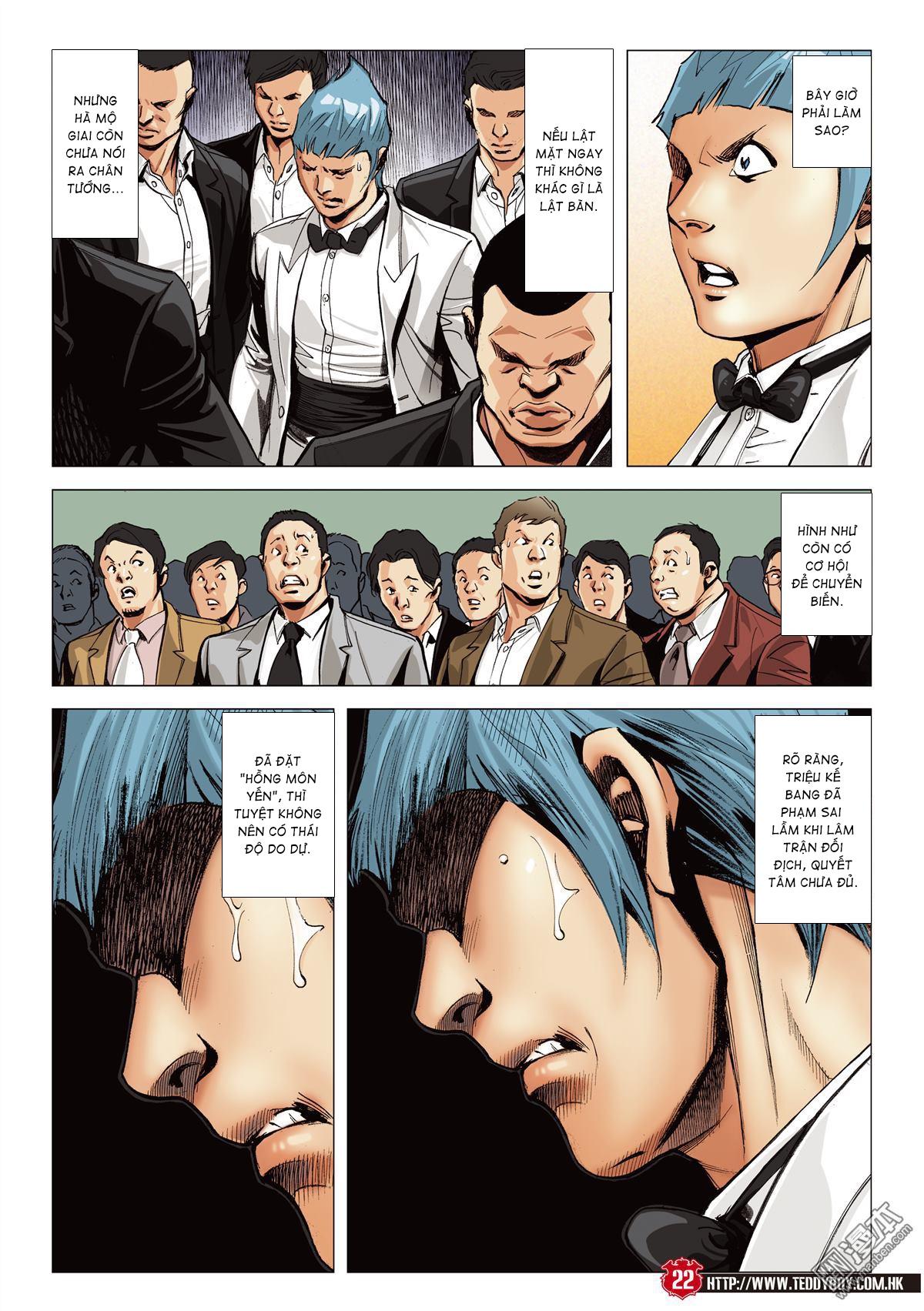 Người Trong Giang Hồ chapter 2067: ánh tỉ làm phản trang 20