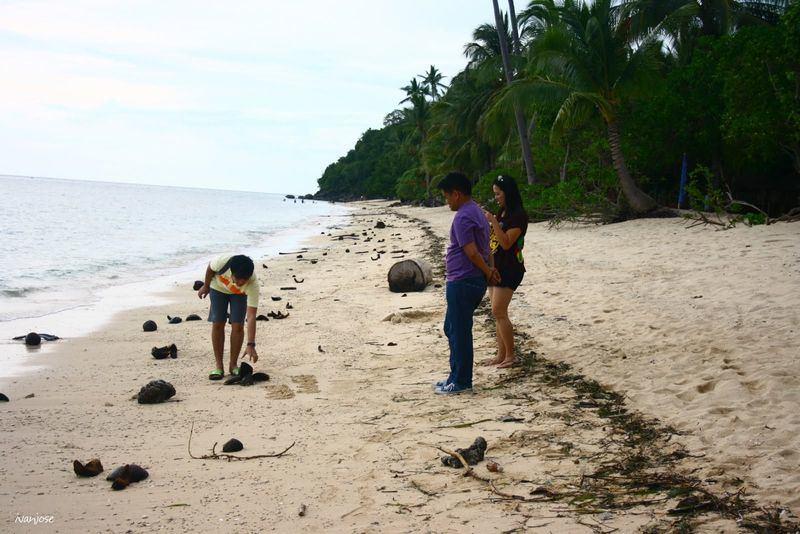 White sands along Sarangani Bay