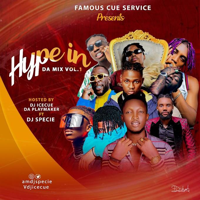 MIXTAPE: DJ Icecue Ft DJ specie - 'Hype In Da Mix Vol 1