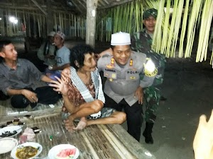 Jalin Silaturahmi, Kapolres Lotim Sowan ke Tokoh Spiritual di Jerowaru
