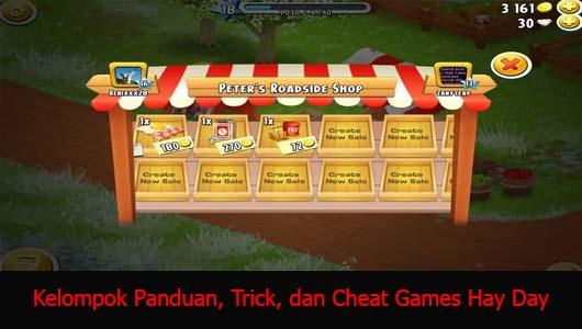 Kelompok Panduan, Trick, dan Cheat Games Hay Day