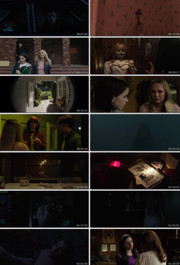 Download Annabelle Comes Home 2019 Dual Audio Hindi HDRip 480p 350MB ESubs movie