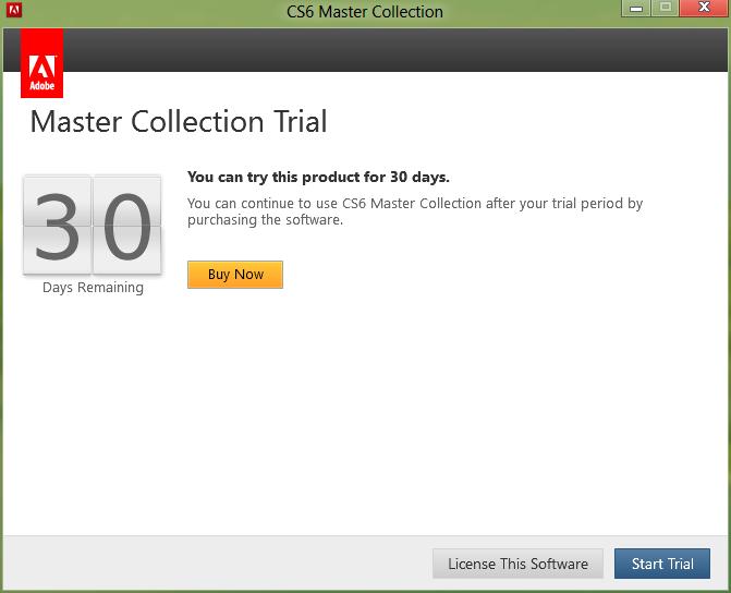 tutorial instalar master collection cs6 serial number