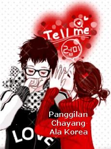 Nama Panggilan Dalam Bahasa Korea : panggilan, dalam, bahasa, korea, Sayang, Dalam, Bahasa, Korea