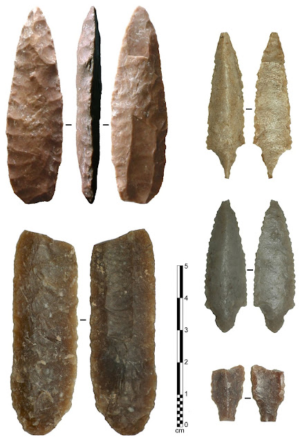 Clovis type fluted points discovered in Arabia