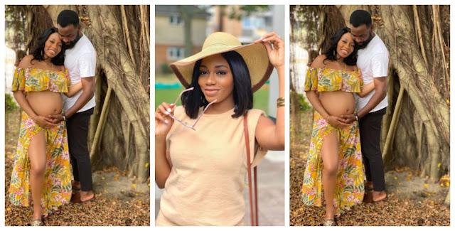 BBnaija Star, Khafi Shows off her Baby Bump in new Photos