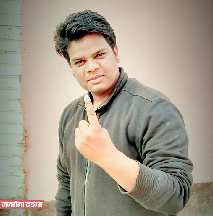 युवा-मतदाता-संजीव-भारती-गजरौला