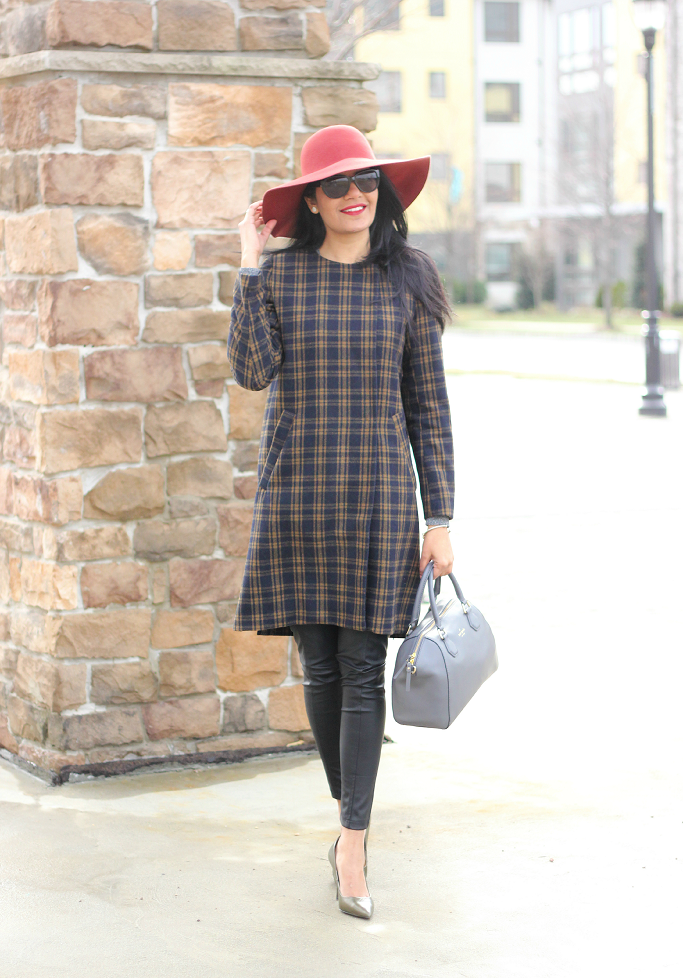 de1821f5b1727 Style-Delights  Lookbook  Plaid Coat