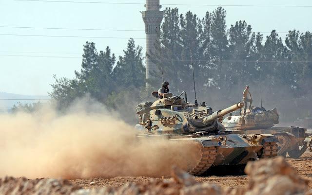 Η Τουρκική εκδρομή στη Συρία οφελεί το Ισλαμικό Κράτος