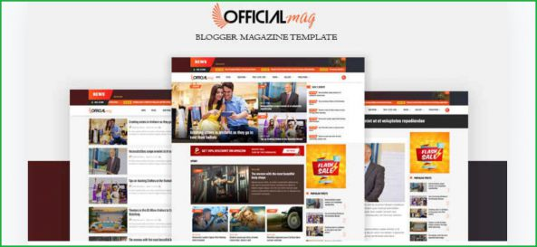 OfficialMag-blogger-template