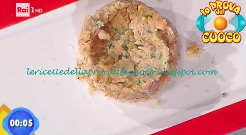 Hamburger di trota alle erbe con insalatina tiepida di finocchi ricetta Latagliata da Prova del Cuoco