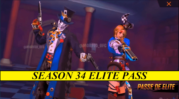 Free Fire Season 34 Elite Pass Review - Items And Reward March 2021