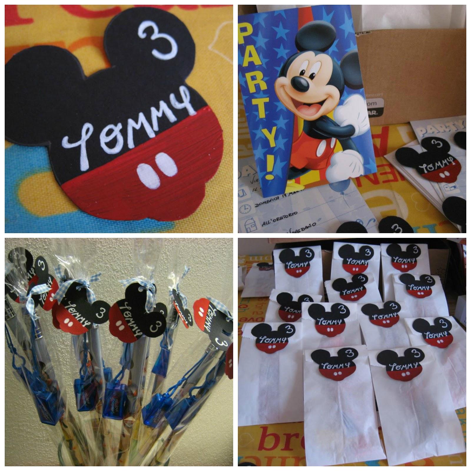 Top Pasticciando in cucina: Michey Mouse Partyper il 3°compleanno  OO46