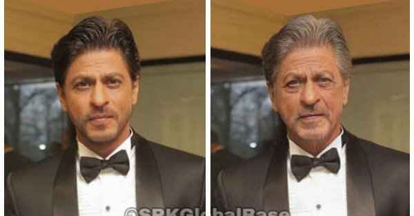 Shahrukh Khan FaceApp Photo
