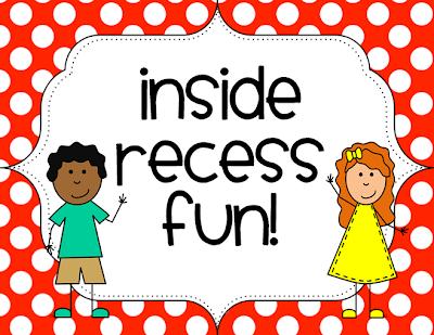 Inside Recess Fun | TheHappyTeacher