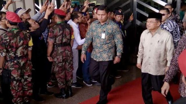Sindiran Pedas JK: Pemuda Muhammadiyah Gak Harus Ikuti Dahnil Pilih Prabowo-Sandi