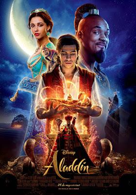 Aladdin 2019 - Cartel en España de la película de Disney