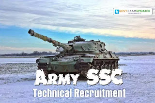 how to apply for army ssc technical recruitment 2019