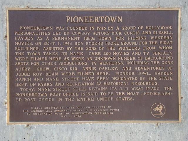 Didirikannya Pioneer Town