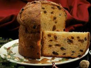 Pão natalino da Itália
