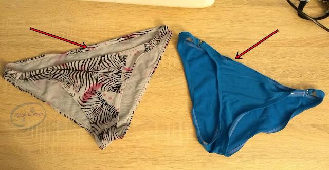 jak naprawić rozciągnięte majtki od bikini - Adzik tworzy
