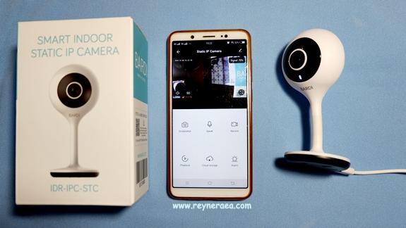 berapa harga Bardi Smart Indoor Static IP Camera