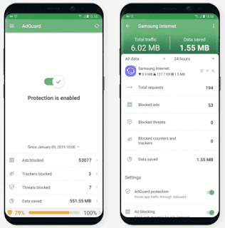 Adguard Premium Mod Apk v3.4.98 [Beta-1] [All Version]