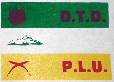 Darjeeling Terai Dooars Plantation Labour Union logo flag
