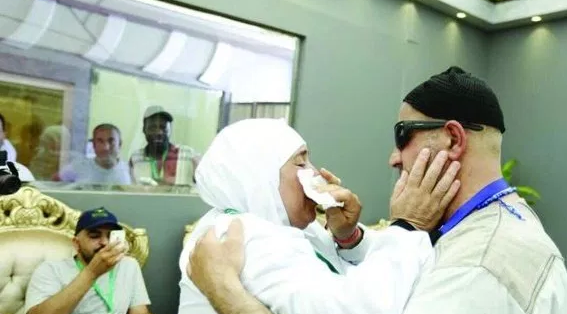 Mengharukan.. Terpisah 15 Tahun Lamanya, Kakak-Adik Bertemu di Mina Saat Ibadah Haji