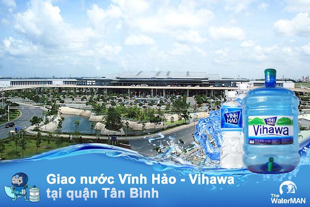 Đại lý nước Vĩnh Hảo - Vihawa bình 20L quận Tân Bình