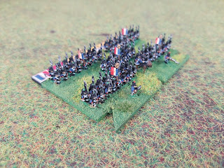 French infantry Brigade in 6mm